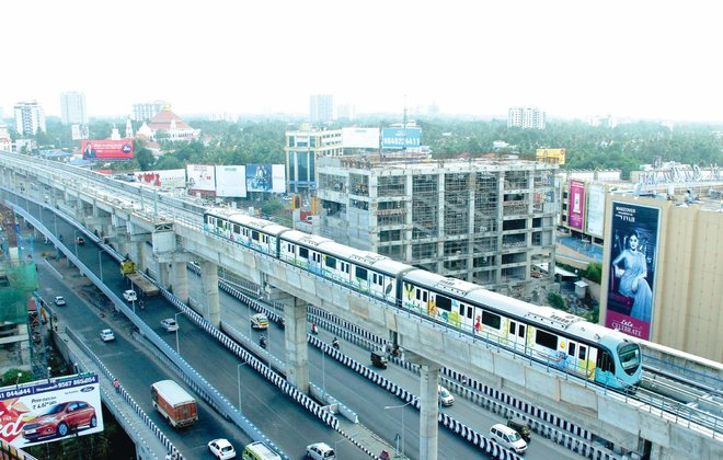 kochi-metro-first-phase-inauguration-in-april-2017-e-sreedharan