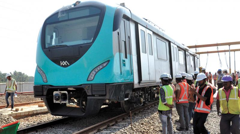 kochi-metro-second-train-set-to-reach-by-july-8