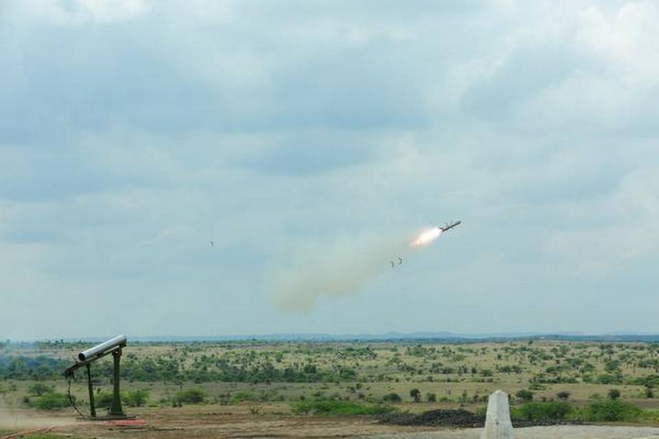 anti-tank-missile-developed-by-drdo-successfully-fired