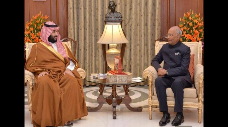 prez-kovind-hosts-saudi-prince-talks-on-counter-terrorism-bilateral-ties