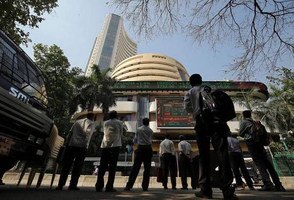 sensex-falls-over-100-points-after-imf-cuts-indias-growth