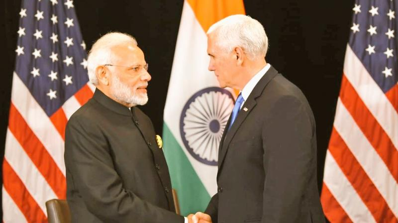pm-modi-mike-pence-discuss-defence-trade-cooperation-in-indo-pacific